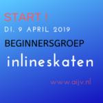 2019 Start Beginnersgroep Inlineskaten april